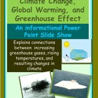 PowerPoint: Global Warming and The Greenhouse Effect
