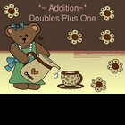 PowerPoint, Math &quot;Doubles Plus One&quot; in Addition Concept
