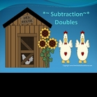 "PowerPoint, Math ""Doubles"" in Subtraction Concept"
