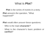 PowerPoint Presentation on Plot with Activities