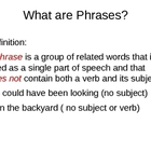 PowerPoint Presentation on Prepositional Phrases