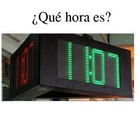 PowerPoint: Telling Time in Spanish