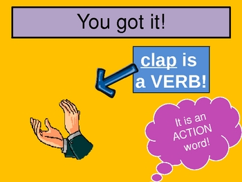 PowerPoint about Verbs
