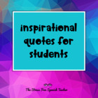 PowerPoint of Inspirational &amp; Motivational Quotes for Students!