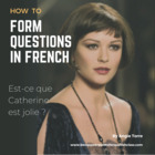 PowerPoint on How to Form Questions in French