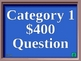 Powerpoint Jeopardy Template