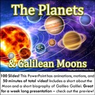 Powerpoint: The Planets and Galilean Moons