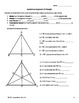 Practice Pages fo Special Lines Segments of Triangles Review