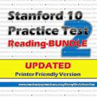 Stanford 10 Practice Test Packet in Reading-2 (Combined 10