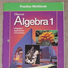 Practice Workbook to be used with the Glencoe Algebra 1 Textbook.