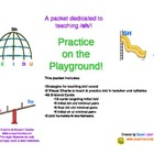 Practice on the Playgroud: /sh/ articulation practice