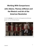 Practice with Comparisons- John Adams and Thomas Jefferson