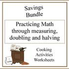 Practicing Math through Cooking Savings Bundle