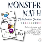 Practicing Multiplication, Arrays & Fact Triangles: Multip