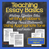 Practicing the Basics: Activities to Teach Every Step of t