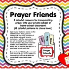 Prayer Friends - {A colorful resource for incorporating pr