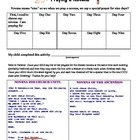 Praying a Novena Worksheet