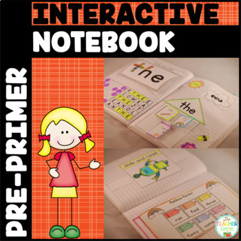 Sight Word Interactive Notebook Bundle: {Kindergarten List 1}