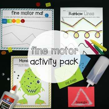 Fine Motor Super Pack: 12 Literacy Centers