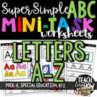PreK Alphabet Worksheets: Early Letter Learning, Special E