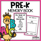 PreK & Preschool Memory Book