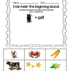 PreKindergarten and Kindergarten Early Literacy Packet
