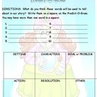 Predict-O-Gram Prediction Worksheet to use with class story