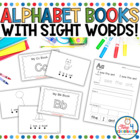Predictable Alphabet Sight Word Reader BUNDLE