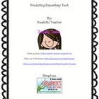 Predicting Expository Text Center Activity