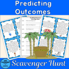 Predicting Outcomes Scavenger Hunt, plus bonus gameboard