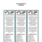 Predicting - Reading Comprehension Strategy Bookmark
