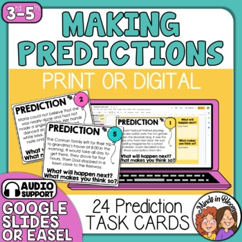Prediction Task Cards
