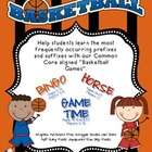 Prefix &amp; Suffix Basketball Games