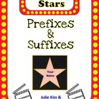 Prefix & Suffix Common Core Reading Stars
