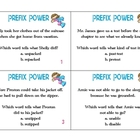 Prefix Task Cards
