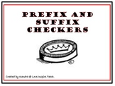 Prefix and Suffix Checkers