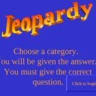 Prefix and Suffix Jeopardy Review Game