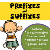 Prefixes, Suffixes, Roots Words: Activities and Games