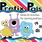 Prefixes -posters, word cards, and activities with re, un and dis