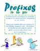 Prefixes (re-, un-, pre-)