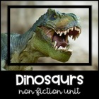 Dinosaur Prehistoric Fun Unit- Non-Fiction- Common Core Aligned