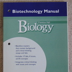 Prentice Hall Biology Biotechnology Manual