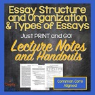 Preparing to Write: Teaching the Basic Terms and Structure
