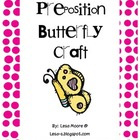 Preposition Butterfly Craft