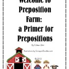 Preposition Farm - booklet on prepositions