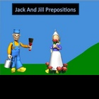 Prepositions Powerpoint Lesson - Jack and Jill Fairy Tale themed