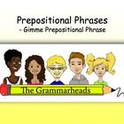 Prepositions Slideshow - PowerPoint Lesson Plan