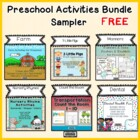 Preschool Activities Bundle - Free Sampler