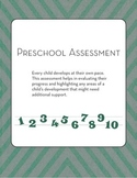 Preschool Assessment: Progress Report