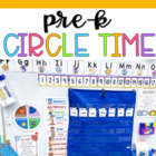 Preschool Calendar Time Pack